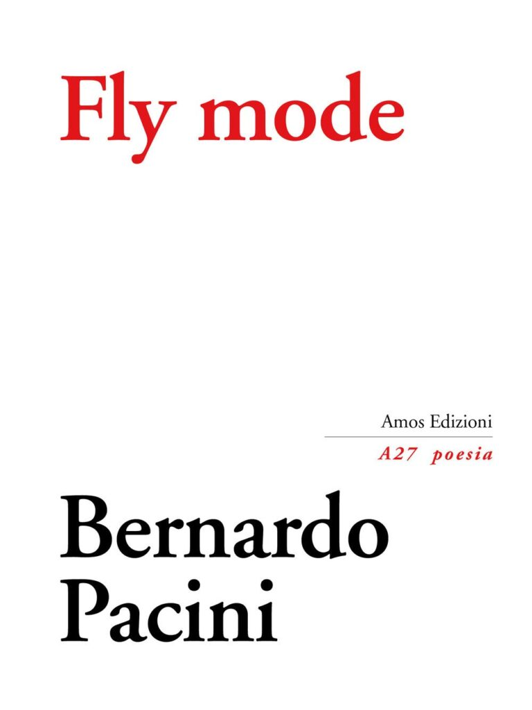 Alla maniera di un drone. Il nuovo libro di Bernardo Pacini